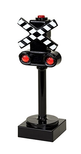 (BRIO World - 33862 Crossing Signal | Toy Train Accessory for Kids Ages 3 and Up)