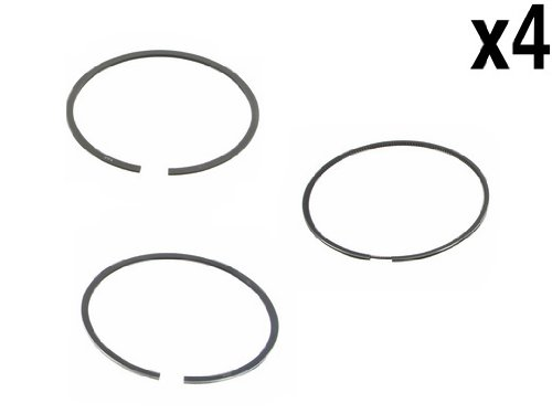 (VAG 1.8L (AWP) Piston Ring Set (4 sets total 12 pcs) Standard 81.00mm GOETZE)
