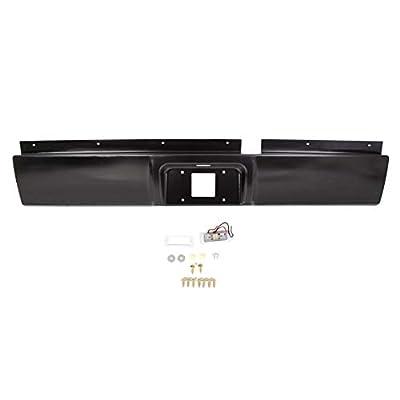 JMTAAT Rear Steel Roll Pan Rollpan for 2002-2008 Dodge Ram 1500 | 2003-2009 2500 3500 Pickup: Automotive