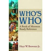 Who's Who: A Book of Mormon Ready Reference