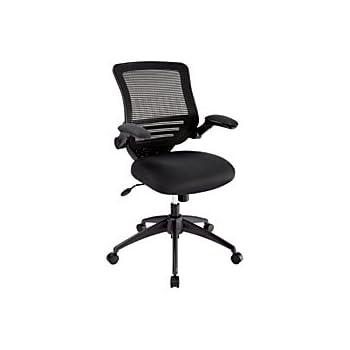 Amazon Com Realspace R Calusa Mesh Mid Back Chair Black