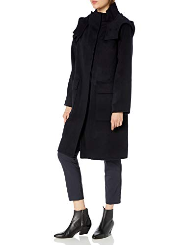 Theory Women's Duffle Coat Df Outerwear, Nocturne, M