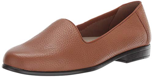 Trotters Women's Liz Tumbled Ballet Flat, tan, 7.5 M US from Trotters