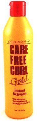 Care Free Curl Gold 16 oz. Activator/Moisturizer (3-Pack) with Free Nail File