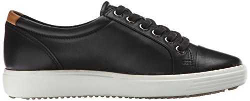 ECCO Women's Soft 7 Fashion Sneaker, Black