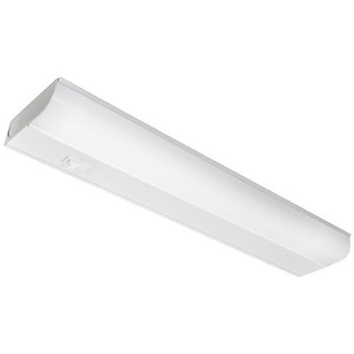 Good Earth Lighting Fluorescent 18-inch Direct Wire Under Cabinet Light Bar - 15W - Equivalent to a 60W Incandescent Bulb - 3500K Soft White - White
