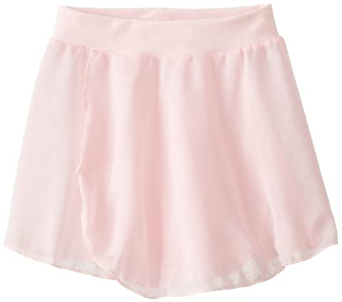 Capezio Little Girls' Tactel Collection Pull-On Skirt, Pink, Toddler - Capezio Wrap Skirt