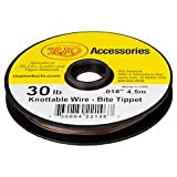 Cheap Rio Fly Fishing Tippet Powerflex Wire Bite Tippet 20Lb 15Ft. Fishing Line, Clear