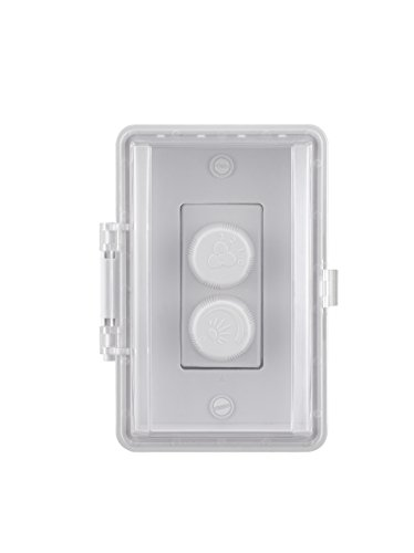 Fanimation CW60WH Wall Control-Fan Speed and Light-White