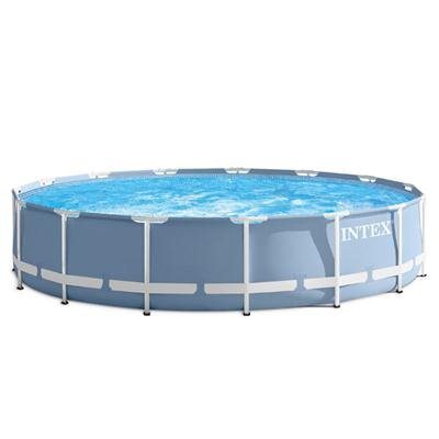 Intex 15' x 33'' Prism Frame Above Ground Swimming Pool Set with Pump   28721EH by Intex