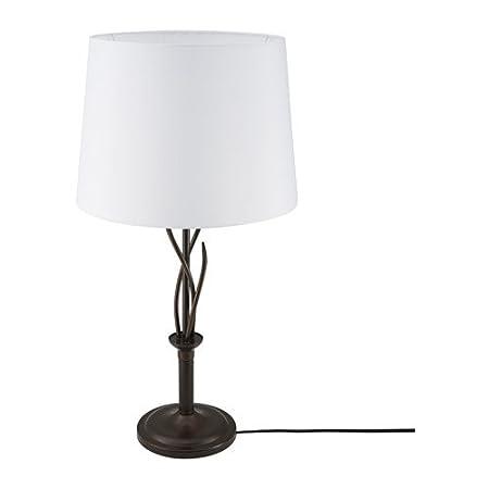 IKEA ingalund lámpara de mesa blanco negro 902.518.19: Amazon.es ...