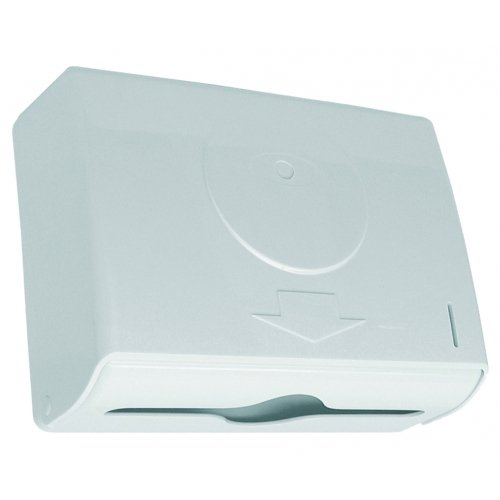 Lantia Bath Dispensador De Toallas Zig-Zag, color blanco: Amazon.es: Hogar