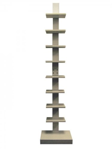 Proman White Spine Free Standing Book Shelves