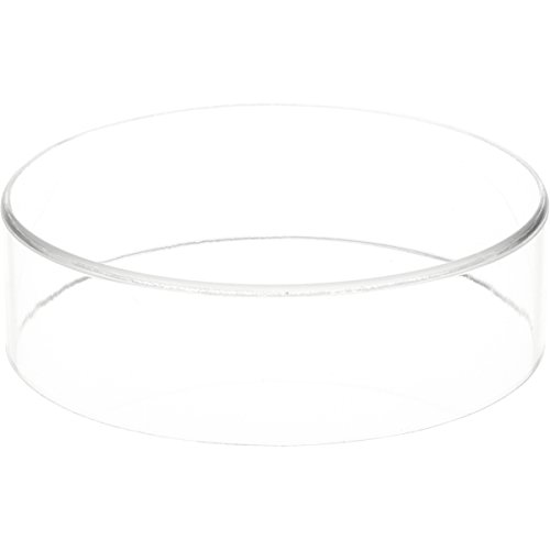(Plymor Brand Clear Acrylic Round Cylinder Display Riser, 2