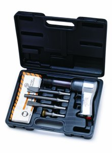 Chicago Pneumatic CP717K Super Duty Air Hammer Kit - Pneumatic Hammer with Positive Action Trigger. Hammer Drills