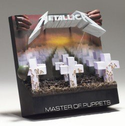McFarlane Toys 3D Album Cover - Metallica Master of Puppets