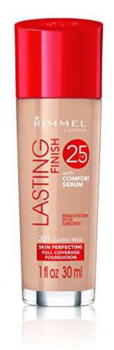 Rimmel Lasting Finish Foundation, Classic Beige, 1 Fluid Ounce