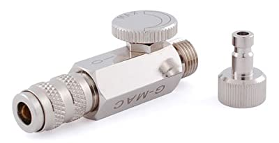 Grex G-MAC MAC Valve with Quick Connect Coupler and Plug