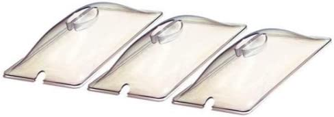 Broil King CL-3 Third Sized Clear Lids for Buffet Server Set of 3