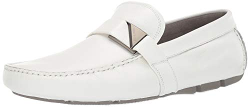 - Kenneth Cole New York Men's Theme Driver C Driving Style Loafer, White, 11 M US