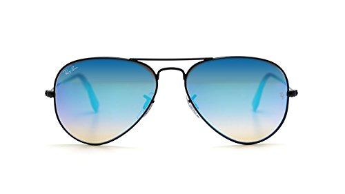 Ray-Ban 3025 Aviator Large Metal Non-Mirrored Non-Polarized Sunglasses
