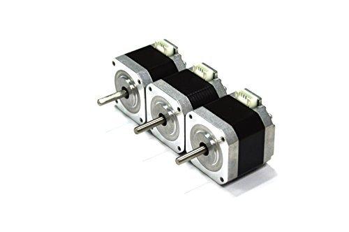 2 opinioni per HICTOP Nema 17 42 Motore passo a passo bipolare 1.5A 57oz.in 40 millimetri
