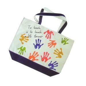 Get Ready 1712 Tote bag - To teach is to touch a life forever.
