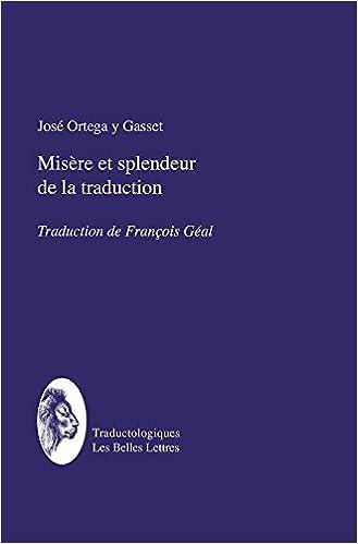 Download Online Misère et splendeur de la traduction pdf ebook