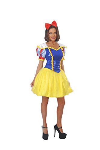 Magik Costumes Women's Sexy Snow White Costume M (8-10) Yellow