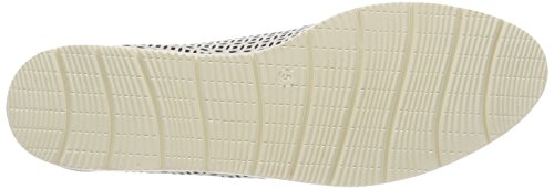 23505 102 Femme Richelieus White Blanc Nappa Caprice Ydf0wzxY