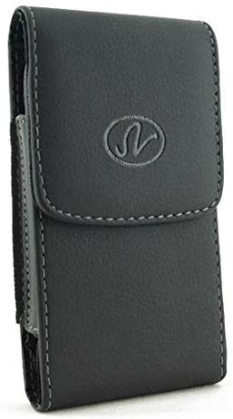 [Rhino]For Samsung GALAXY NOTE 3 XL Vertical Leather Belt Clip Swivel Pouch Case (fits the Phone + otter box / commuter case / hybrid case, this case will to big if you want fit with phone itself)