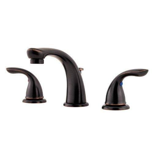Pfister G149-610Y  Series 8-Inch Widespread Bath Faucet, Tuscan Bronze (Widespread Bath Series Faucet)