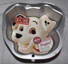 Wilton Cake Pan: Singles 101 Dalmations Puppy Dog Baking Mold Tin (2105-1133)