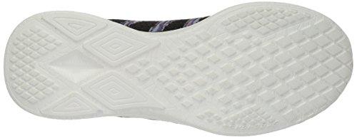 Skechers 23388 Damen Sneakers Zwart-paars