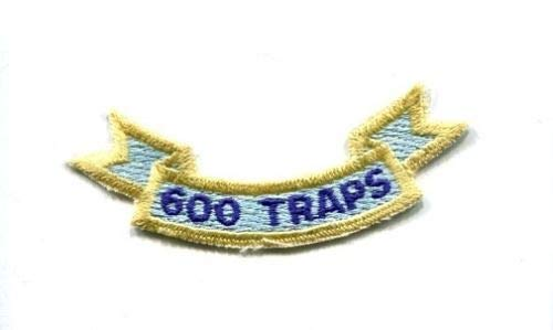 Embroidered Patch-Patches for Women Man- 600 Traps Aircraft Carrier LANDINGS