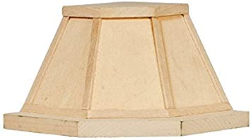 Melody Jane Casa de Muñecas Esquinera Campana Extractora sin Terminar Madera en Bruto Miniatura Muebles de Cocina: Juguetes y juegos - Amazon.es