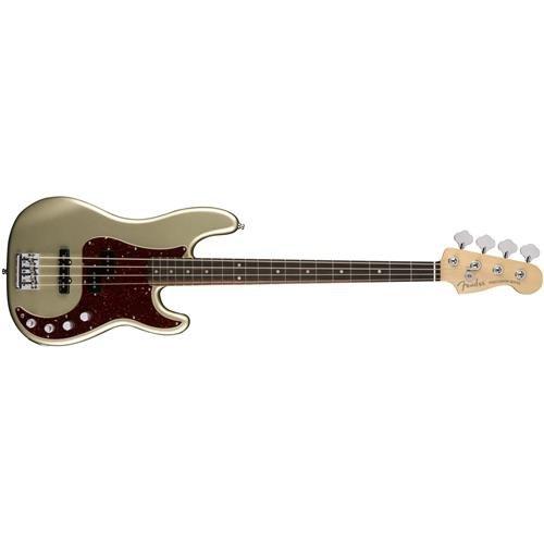 Fender American Elite Precision Bass - Champagne w/Ebony Fingerboard