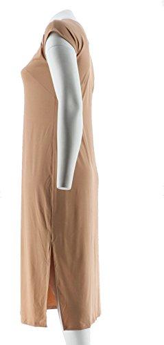 Sand Dolman Embroidered Bob Knit SLV A290579 Dress Mackie Maxi Sa8wxwpnBW