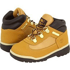 Timberland Kids Wheat Scuff Proof Field Boot Scuff ProofToddler 11.5 B(M) US Toddler (Timberland Scuff Proof For Kids)