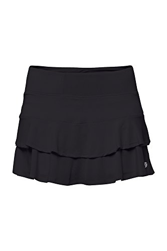 Lija Short - Lija Women's Match Skort, Black, Medium