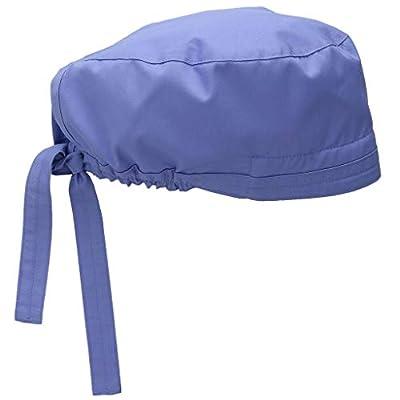 Ghazzi 2 Pc Unisex Scrub Cap Adjustable Nurse Doctor Scrub Cap Solid Surgical Bouffant Sweatband Dust Proof Gourd Hat at  Women's Clothing store