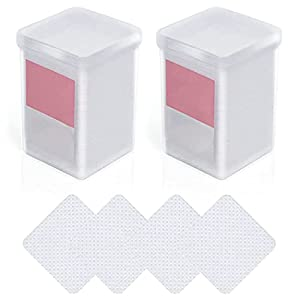 YHomU Eyelash Glue Wipes Soft 400PCS Creative Nail Wipes Polish Remover Wipes Makeup Beauty Supplies Tool Polish Remover