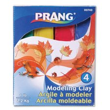 Modeling Clay Sticks - Prang 00740 Modeling Clay Assortment, 5.44