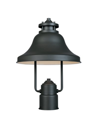 Designers Fountain 31336-BZ Bayport-DS Post Lanterns, Bronze (Sized Lantern Sky)