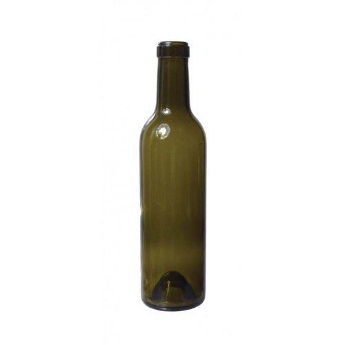 Eagle B385 Wine Bottles, 375 mL Antique Green, Antique Green (Pack of 12) ()