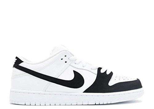 Nike Skateboard Dunks (Nike SB Dunk Low Premium (Black/White-Black-White) Men's Skate Shoes-10)