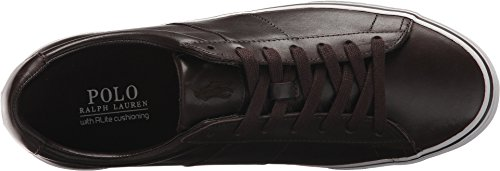 Polo Ralph Lauren Mens Sayer Sneaker Cioccolato Fondente