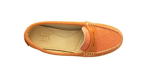 He Spring - 1529 - Velours Mix Orange - Chaussure Femme
