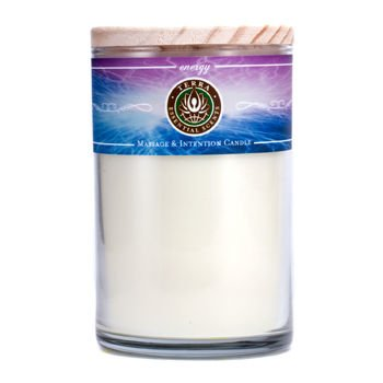 Energy by Energy: MASSAGE & INTENTION SOY CANDLE 12 OZ TU...