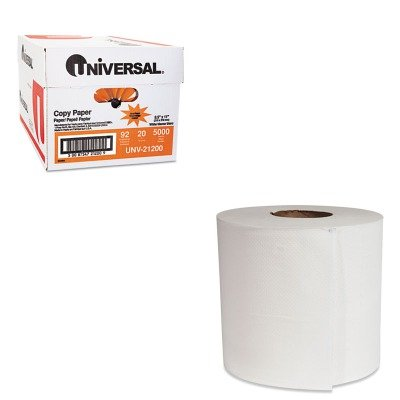 KITBWK6415UNV21200 - Value Kit - Boardwalk Center-Pull Hand Towels (BWK6415) and Universal Copy Paper (UNV21200)
